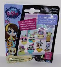 Blind Bag Littlest Pet Shop B46 Hasbro Lps Littlest Pet Shop Cozy Snackers Blind Bags Series 3