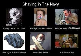 Color Guard Memes - shaving in the military navy memes clean mandatory fun