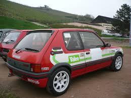 france peugeot peugeot 205 gti 1900 préparation groupe n 1987 custom seat ibiza