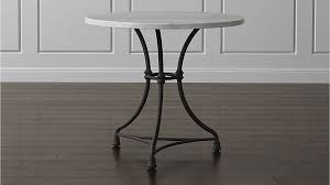 French Kitchen Round Bistro Table Crate And Barrel - Barrel kitchen table