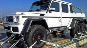 mercedes benz 6x6 6x6 mercedes benz g63 amg production confirmed video