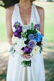 Bridesmaids Bouquets Blue Purple And White Wedding Bouquets New Style Wedding Bouquet
