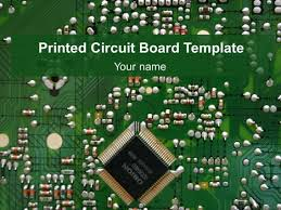 ppt templates for electrical engineering printed circuit board template