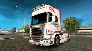 scania truck vabis skin for scania truck for euro truck simulator 2