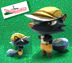 Halloween Animal Crossing by Animal Crossing Nintendo Papercraft