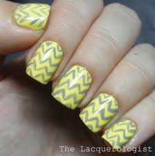 31dc13 day 3 yellow nails u2022 casual contrast
