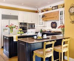 White And Yellow Kitchen Ideas - magnificent best 25 yellow country kitchens ideas on pinterest at