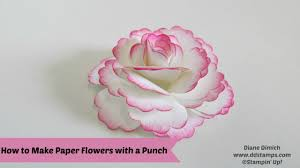 How To Make I How To Make Paper Flowers Youtube
