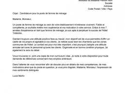 lettre de motivation femme de chambre d饕utant lahauteroute part 138