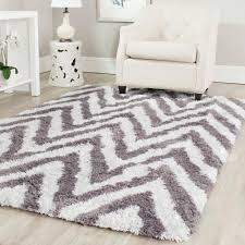 Purple Shag Area Rugs by Gray 3 X 4 Shag Area Rugs Rugs The Home Depot