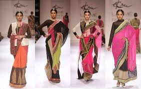 How To Draping How To Drape A Saree In Different Ways At Kyasa