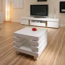 White Gloss Side Table Gracious Contemporary Interiors With White Coffee And Side Tables