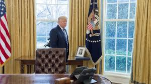 a conversation with donald trump in the oval office
