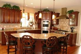 kitchens with bars and islands traditional kitchen with l shaped hardwood floors in naperville