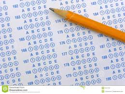 exam sheet and pencil royalty free stock photography image 6147197