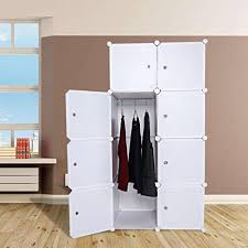 diy kitchen cabinets book ferty portable clothes closet wardrobe combination cube armoire cabinet storage organizer with doors diy bedroom book cabinets white 8 cube