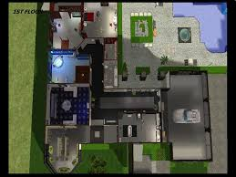 The Sims 3 House Floor Plans Mod The Sims Heather Home A Modern Mansion