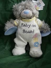 me to you tatty teddy 6inch bear baby on board nursery