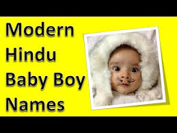 modern hindu baby boy names youtube