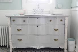 Bow Front Vanity Monday Makeover Bowfront Dresser Made Into Master Bathroom Vanity U2013