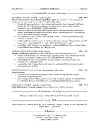 Ma Resume Examples by 7 Best Public Relations Pr Resume Templates U0026 Samples Images On