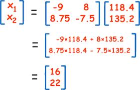 inverse of a matrix