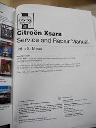 haynes service and repair manual citroën xsara 1997 to sept 2000