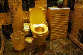 luxurious gold toilet paper home design by fuller