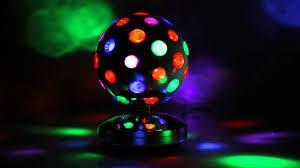led disco ball light oneconcept disco ball 8 s led lichteffekt youtube