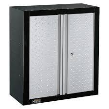 Storage Cabinets Metal Furniture Black And Grey Metal Lockable Wall Storage Cabinets