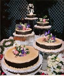 different wedding cakes wedding cakes with spiral sugar flowers archives