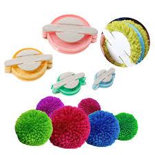 accmart 4 sizes pom pom maker for fluff diy wool