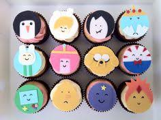 adventure time cupcakes my first time making u0026 decorating with
