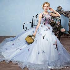 Ball Gown Halloween Costume 100 Luxury Birds Embroidery Ball Gown Medieval Dress