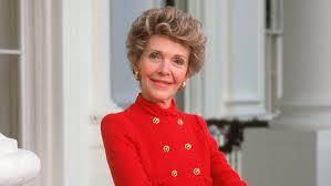 Nancy Reagan Nancy Reagan Wore The Reagan Red Instyle Com
