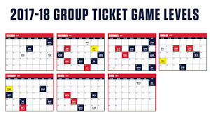 group packages washington capitals