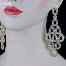 Long Chandelier Earrings Dangle Earrings Buy Bridesmaid Chandelier Earrings And Get Free Shipping On