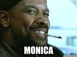 Monica Meme Denzel - do black people always call each other monica