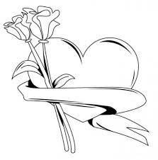 valentine valentine heart drawings luxurious valentines coloring