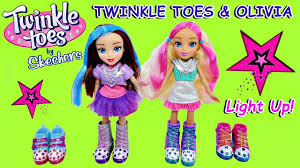 dolls that light up twinkle toes by skechers twinkle toes olivia dolls 2 pairs of
