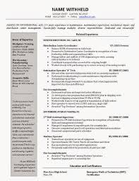 Resume Samples For Machine Operator by Examples Of Excellent Resumes