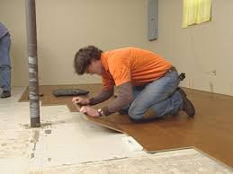 Laminate Flooring Around Pipes How To Install Natural Cork Flooring How Tos Diy