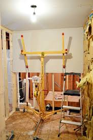 How To Hang Drywall On Ceiling By Yourself by Best 25 Drywall Lift Ideas On Pinterest Tools Wood Tools And