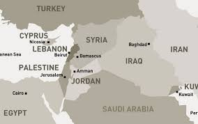middle east map and capitals middle east map syria mappery