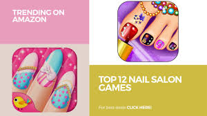 nail art barbie nails spa nail salon game for girls youtube games