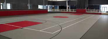attractive indoor basketball court design 8 synthetic gym