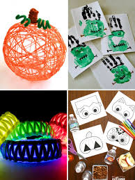 roundup 10 fun halloween crafts to do with your kiddos curbly