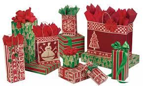 homespun collection gift bags wrap tissue