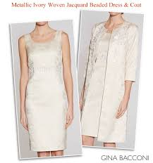 dress and jacket for wedding bacconi beaded dress matching coat of the