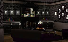 Gothic Dining Room by Gothic Living Room Minimalist Gothic Living Room With A Dark